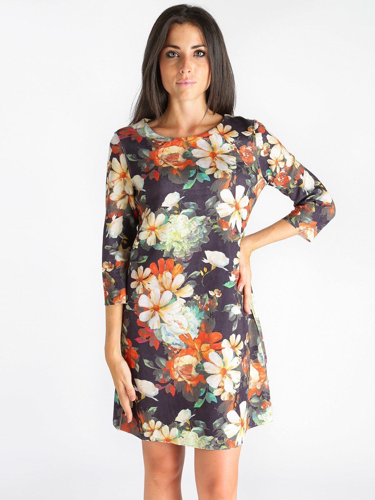 buy online a3154 9f7aa Abito con fiori solada   MecShopping
