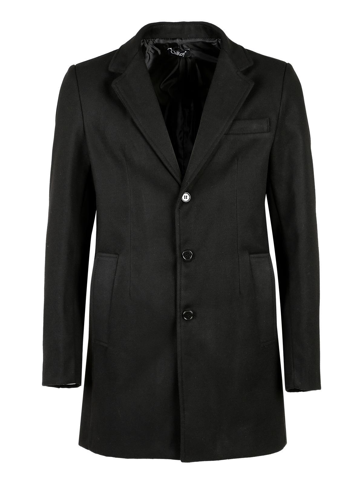 diseño de calidad 000d2 ef390 Abrigo negro clasico hombre | MecShopping