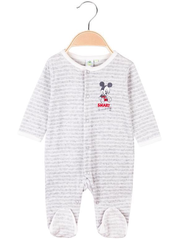 Bébé chenille nouveau-nés avec impression mickey