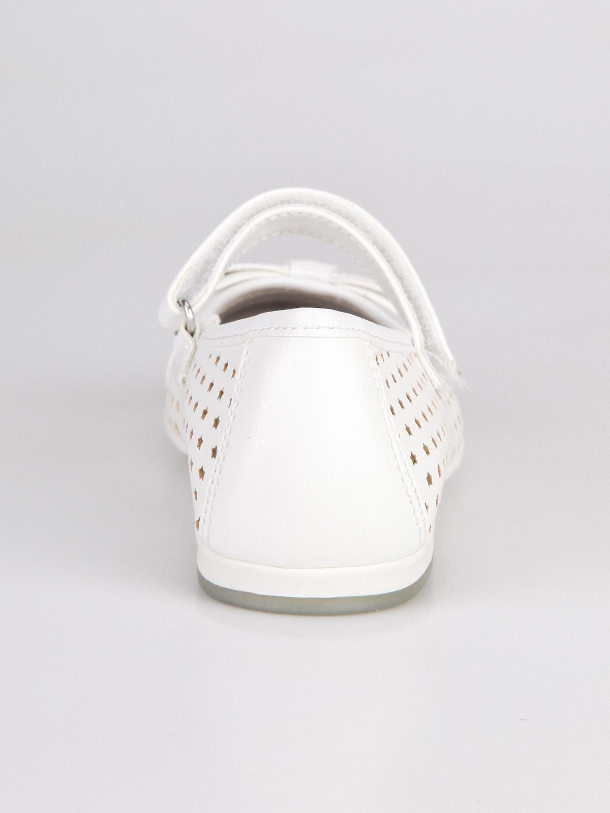 best website 8f20d 25f4d Ballerine con cinturino bimba - Bianco asso | MecShopping
