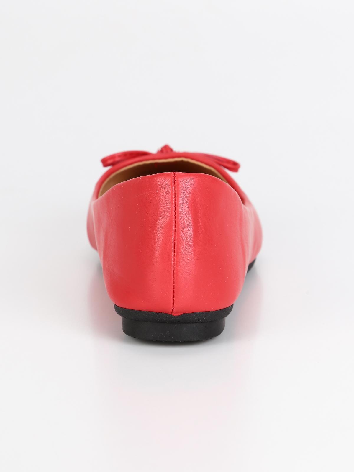 miglior sito web 400f4 6611c Ballerine rosse con fiocco diamantique | MecShopping