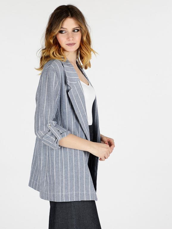 gran calidad Venta de descuento 2019 mayor selección de Blazer de algodón con rayas verticales mujer | MecShopping
