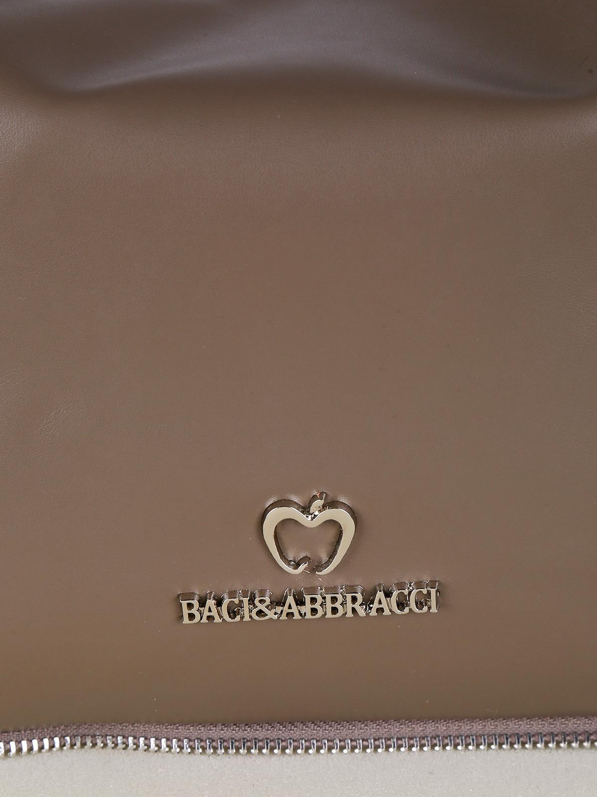 Borsa hobo marrone baci & abbracci | MecShopping