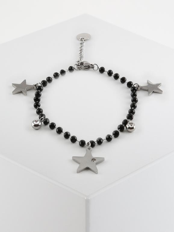 Braccialetto con perline e stelle