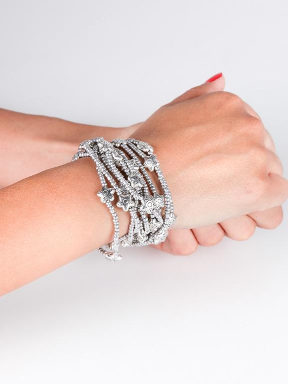 Bracelet élastique avec étoile de mer