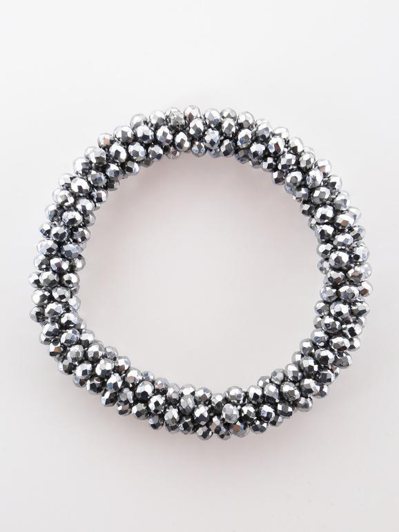 Bracelet élastique avec des perles