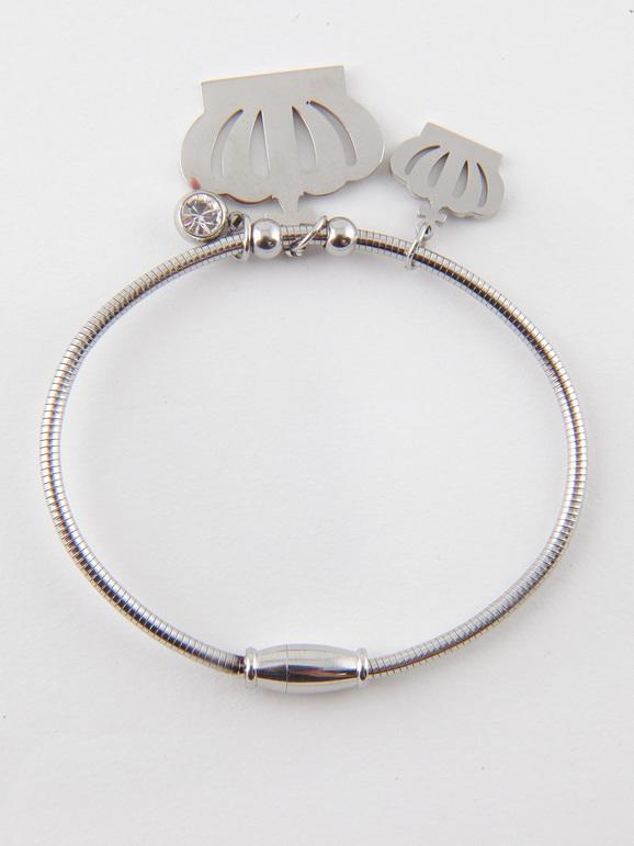 Bracelet avec des couronnes et des strass