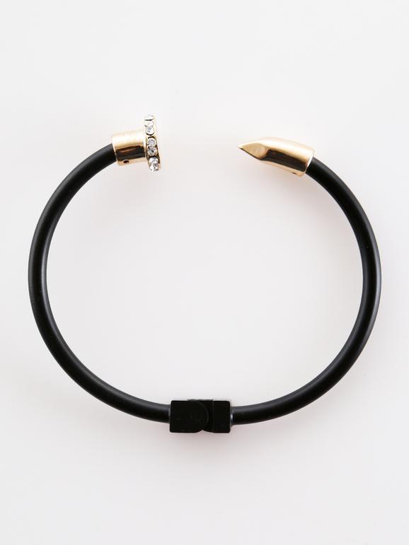 Bracelet avec strass - bicolore