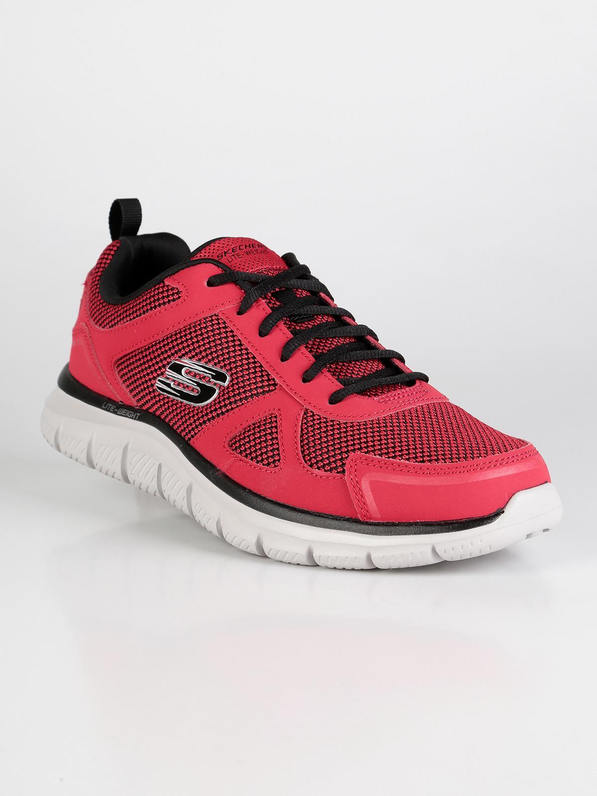 Bucolo - Scarpe sportive rosse skechers | MecShopping