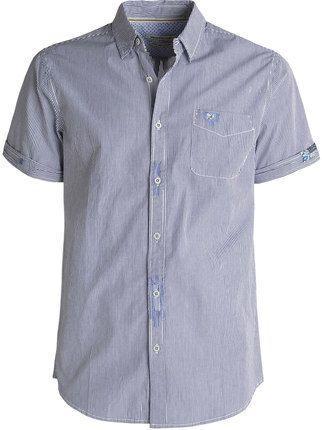 673640a334 Camicia a righe con maniche corte bread & buttons | MecShopping