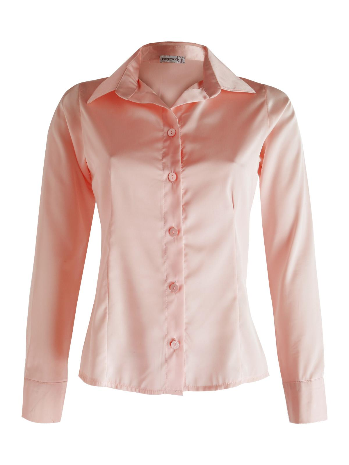 the latest 8d224 f5213 Camicia elegante effetto raso frenetika | MecShopping