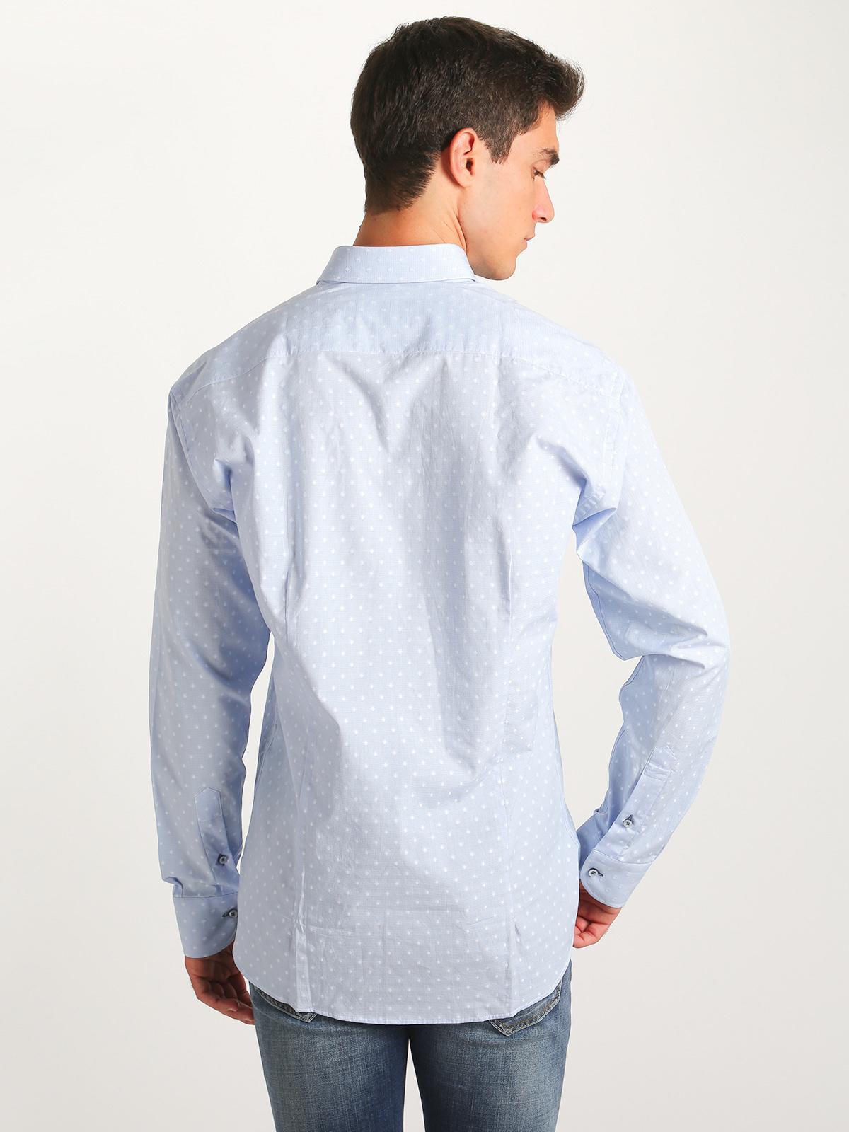 comprare on line c5357 fb060 Camicia in cotone testurizzata - regular fit carlo ...