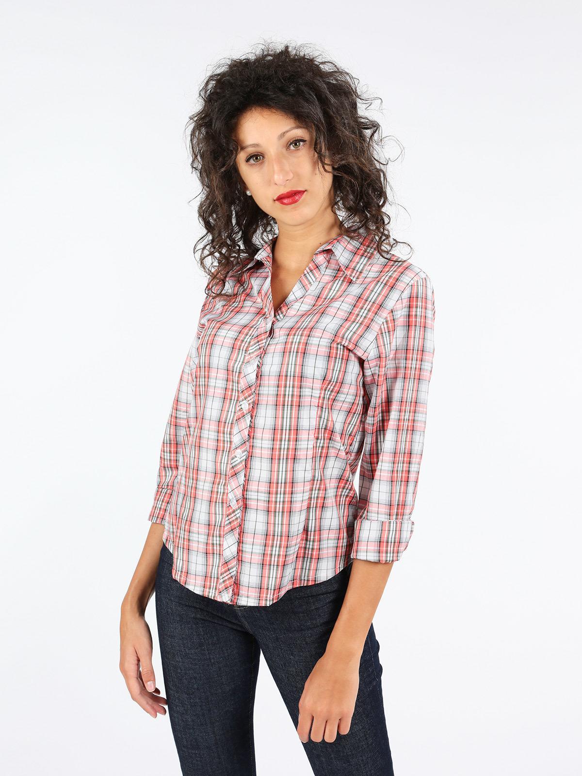 4957442067 Camicia scozzese donna mec woman   MecShopping