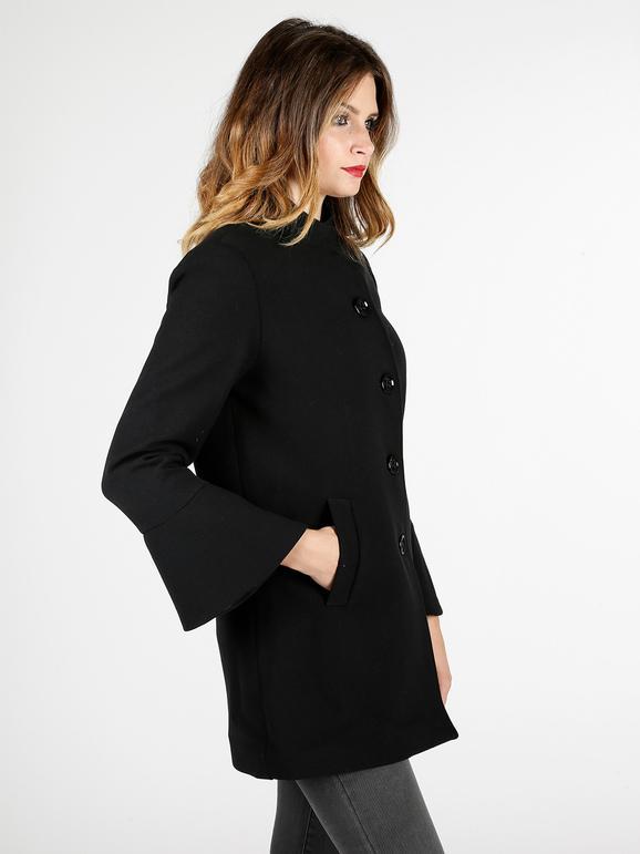 cappotti donna con maniche a campana