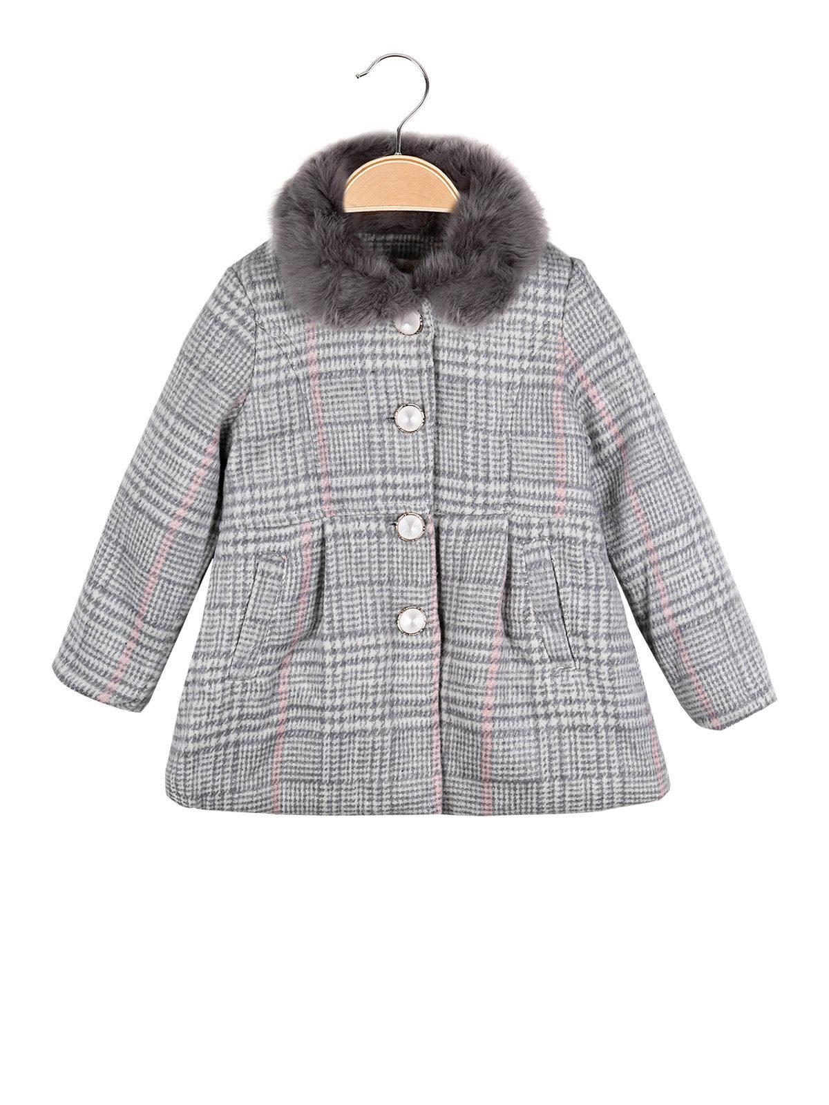save off 0a8e1 d4621 Cappotto grigio scozzese mono star | MecShopping