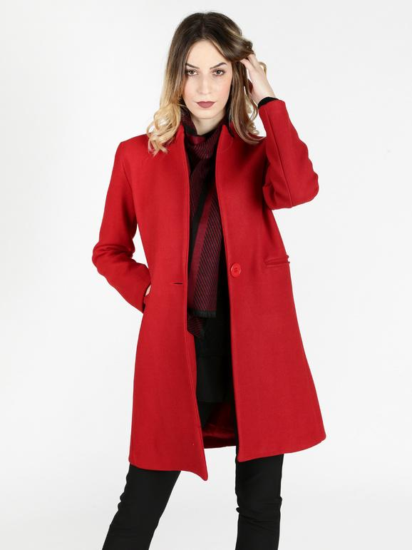 official photos 9bee2 4932e Cappotto rosso donna lumina | MecShopping