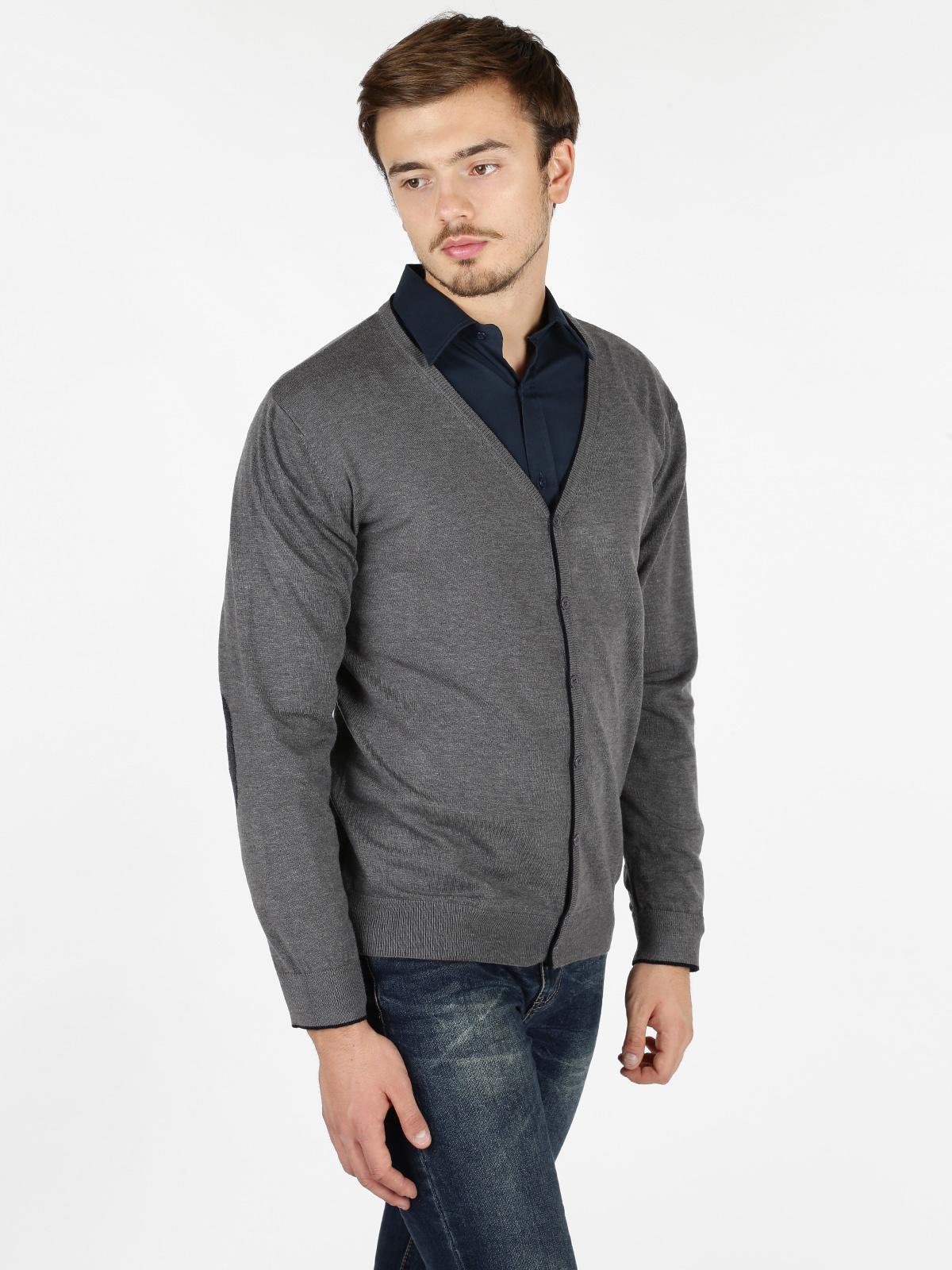 4f59df10e2 Cardigan in maglia con bottoni - grigio baci & abbracci | MecShopping