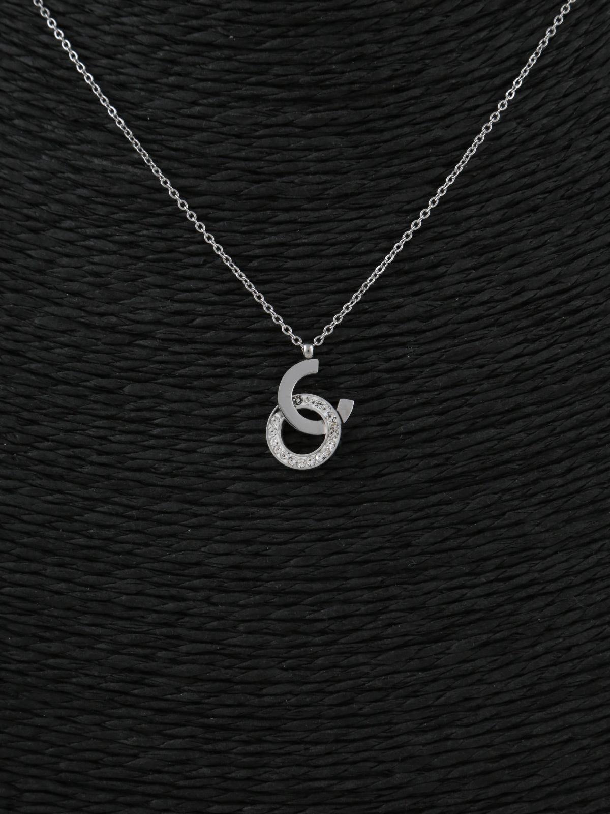 nuovi prodotti caldi alta moda Miglior prezzo Collana argento sottile con strass solada | MecShopping