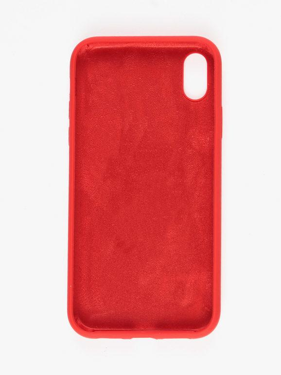 Siipro Custodia In Silicone Iphone Xr Rosso Accessori Tech E Audio