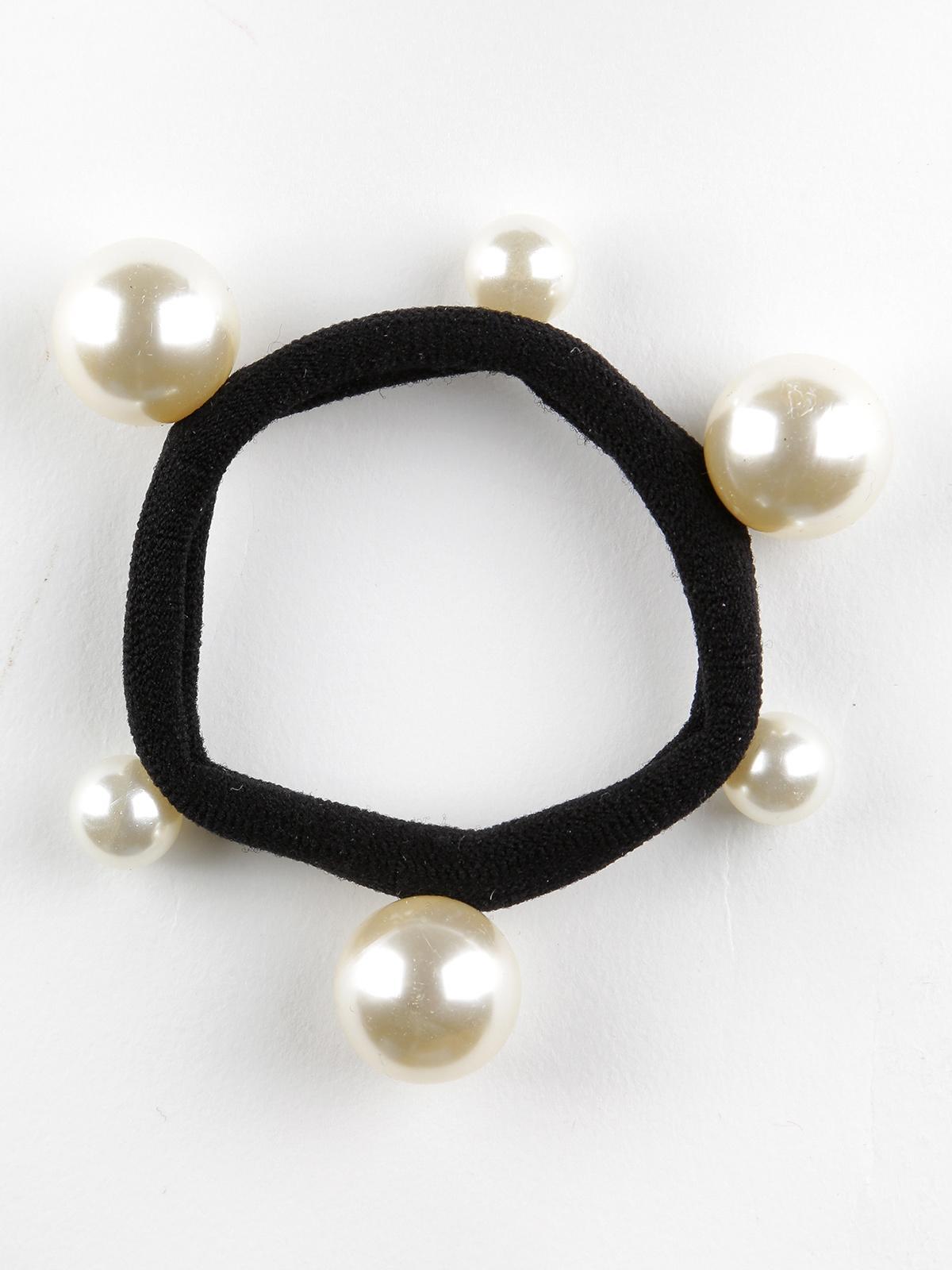 luxe énorme réduction fournisseur officiel Elastico per capelli con perle solada | MecShopping