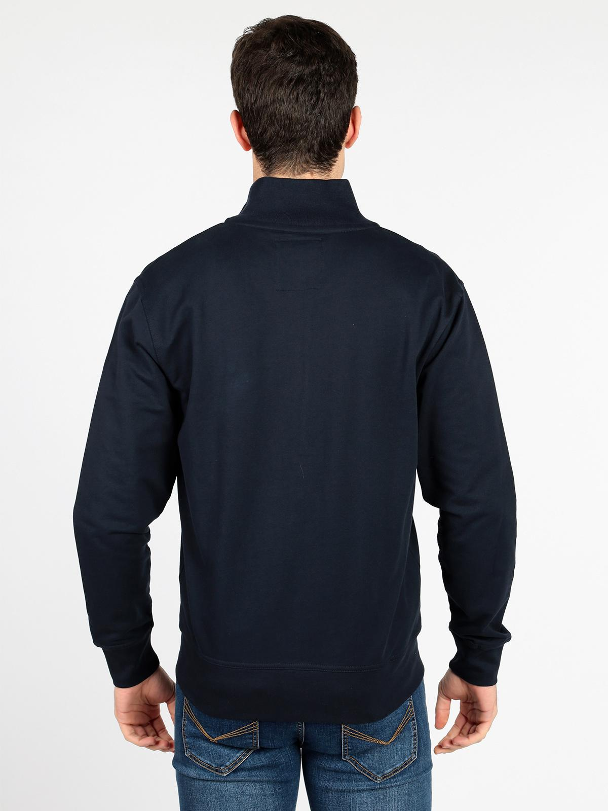 sito affidabile af2ba 58c4b Felpa a collo alto full zip in cotone be board | MecShopping