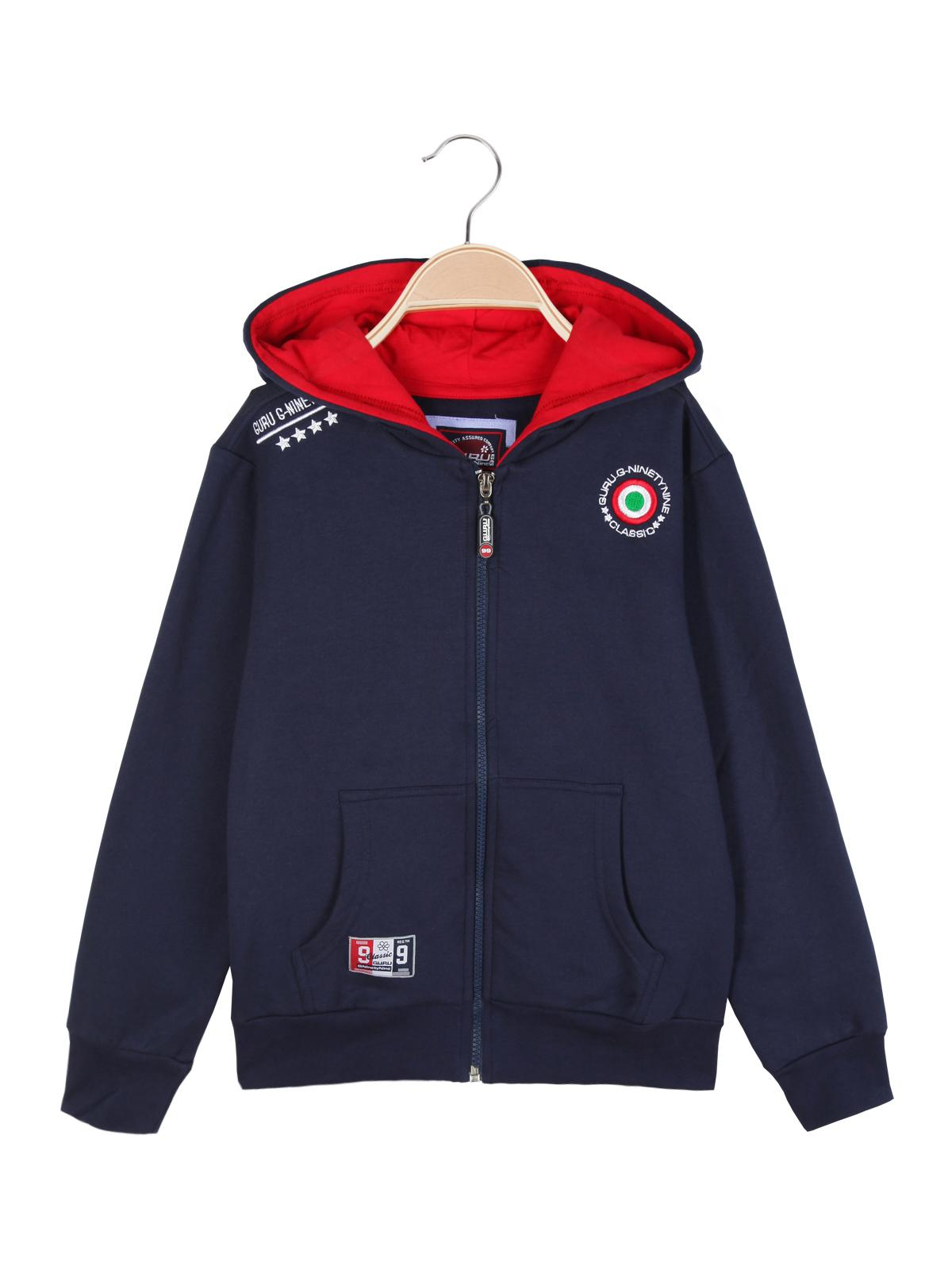 the latest 45821 f4352 Felpa con cappuccio full zip guru | MecShopping