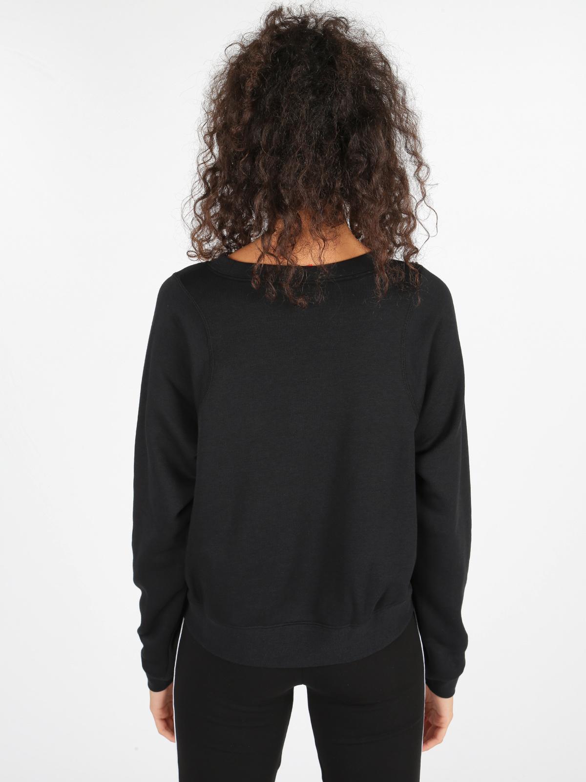 Felpa nera Nike sportswear modern crew nike | MecShopping