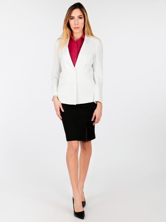 wholesale dealer 53dda 0eb88 Giacca bianca elegante radaus   MecShopping