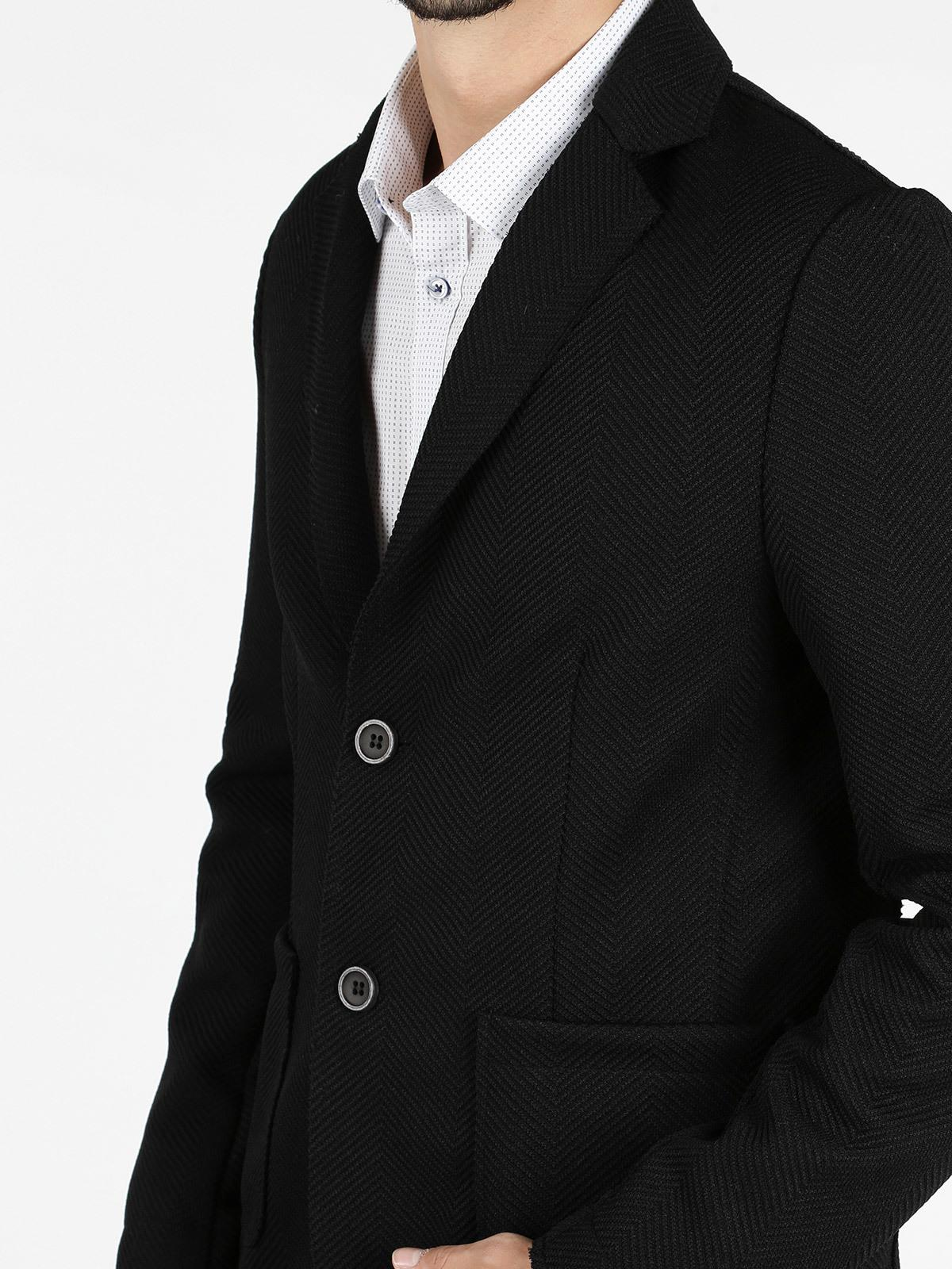 premium selection 00450 d40d1 Giacca blazer nera renever | MecShopping