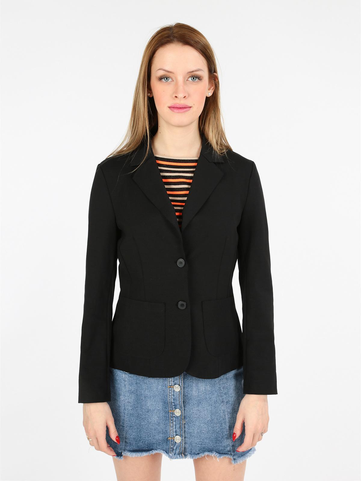 cheap for discount f6219 ba814 Giacca blazer nera wendy trendy | MecShopping