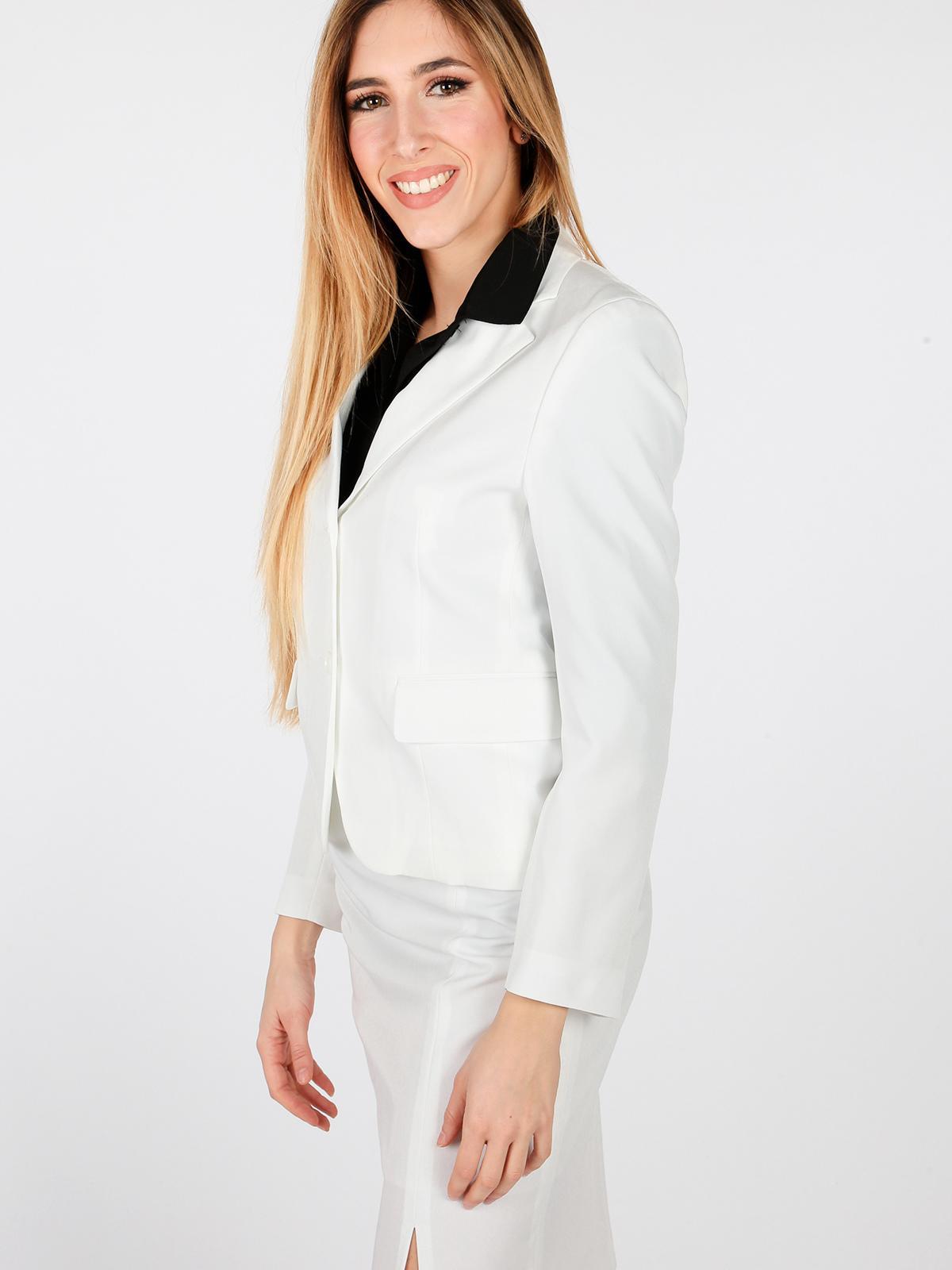 sale retailer 88288 c49a0 Giacca elegante bianca radaus | MecShopping