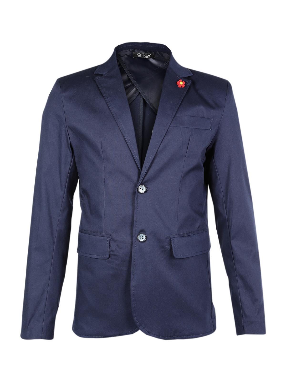 size 40 5914b b4330 Giacca estiva uomo in cotone - blu chroy | MecShopping