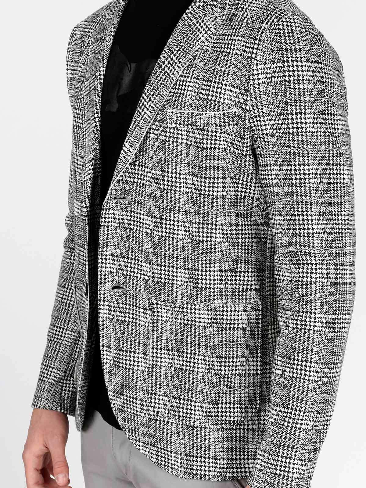 reputable site cc516 24740 Giacca principe di galles ange wear | MecShopping