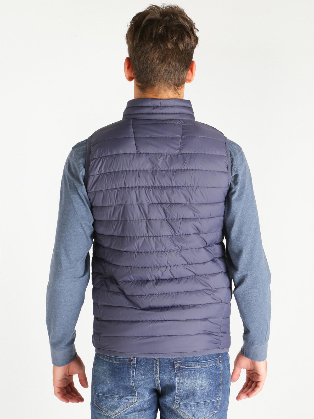 new product 0803b ed923 Giubbino smanicato - blu coveri collection | MecShopping