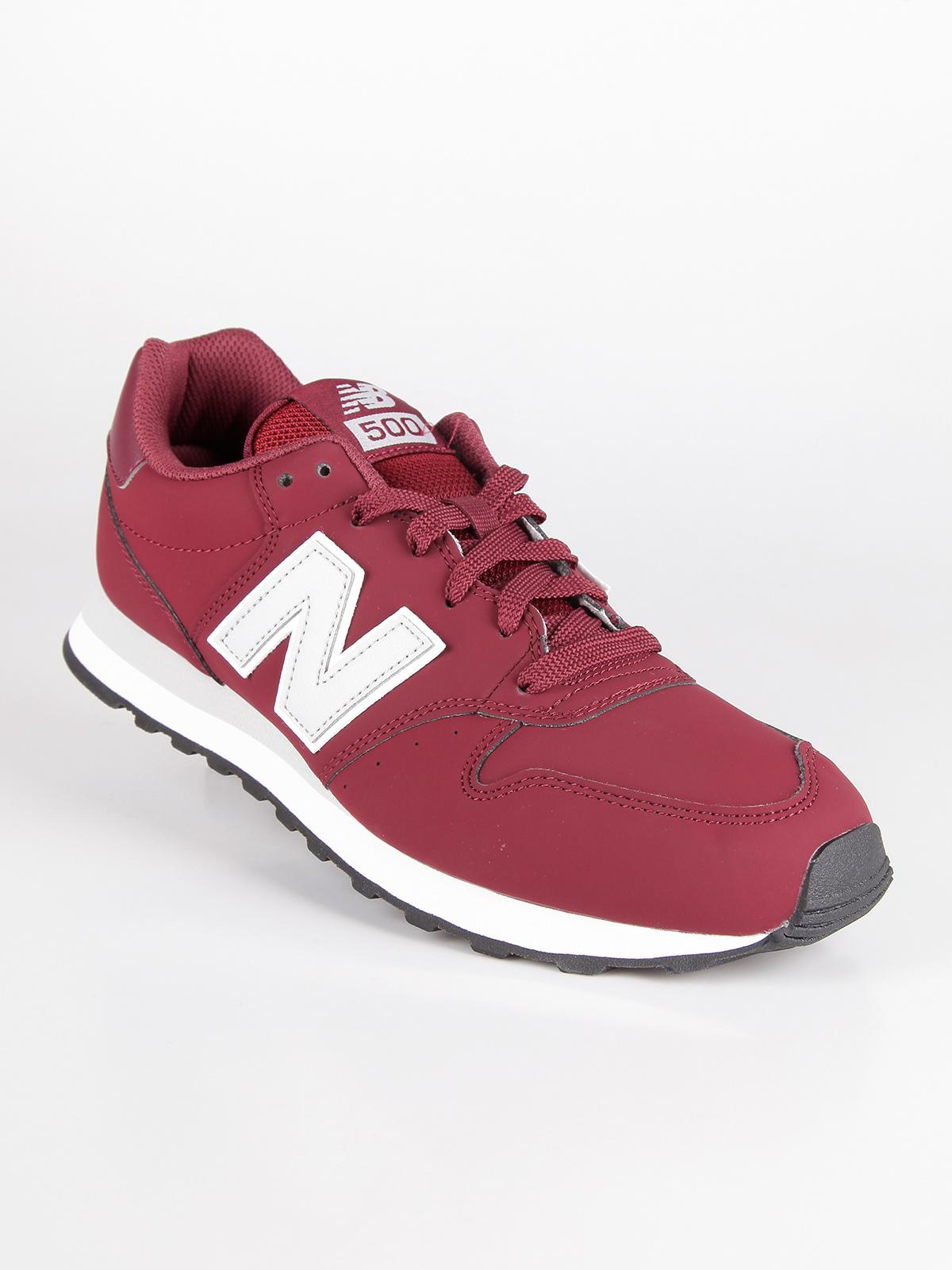 New Balance GM500RDG - Sneakers bordeaux uomo: Low-top Trainers