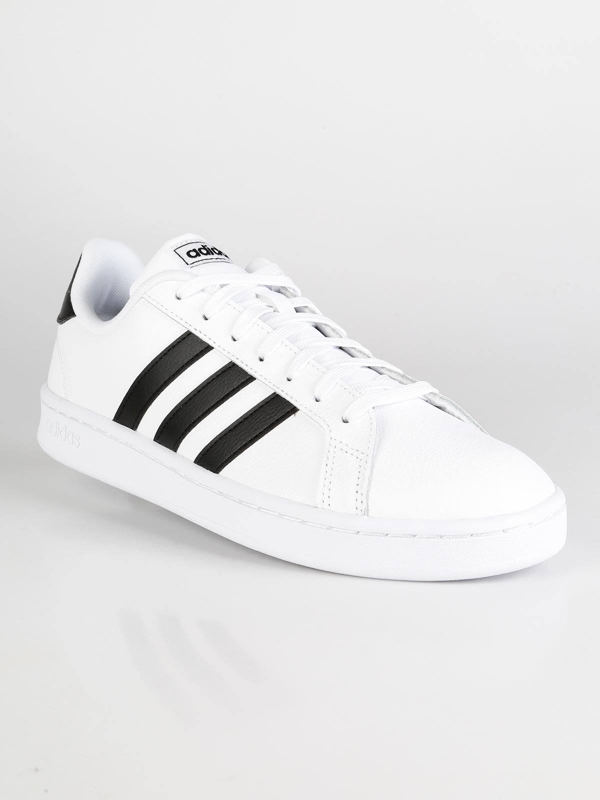 Grand court sneakers basse da uomo adidas | MecShopping