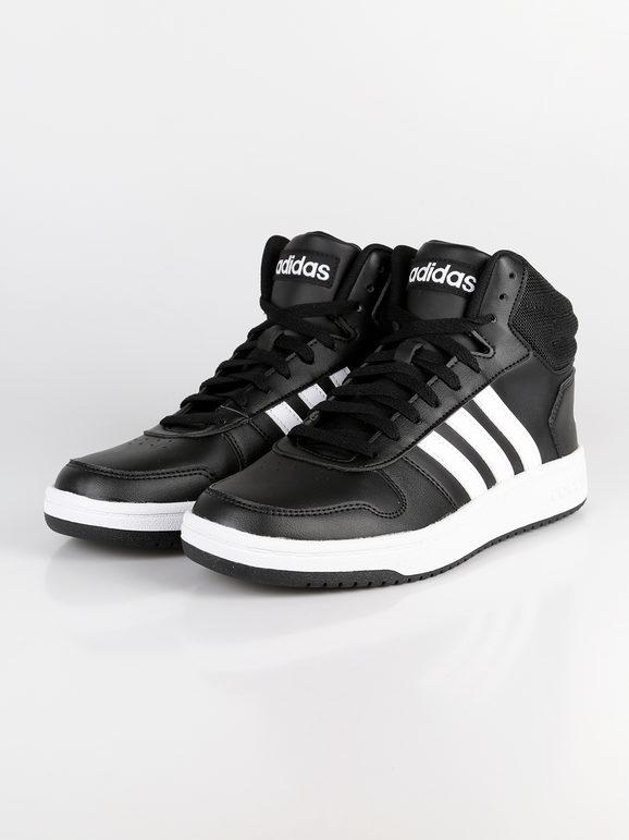 Hoops 2.0 MID Sneakers alte nere adidas   MecShopping
