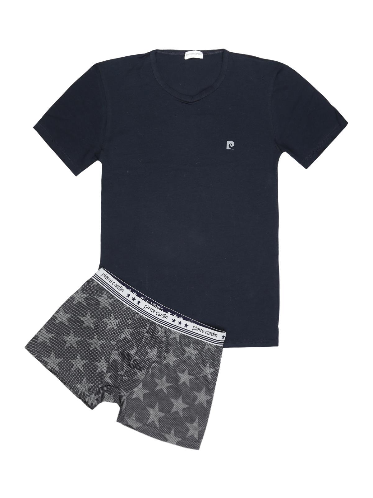 kinder Repliken Wählen Sie für offizielle pierre cardin Intimate T-shirt + star boxer - complete men& ...