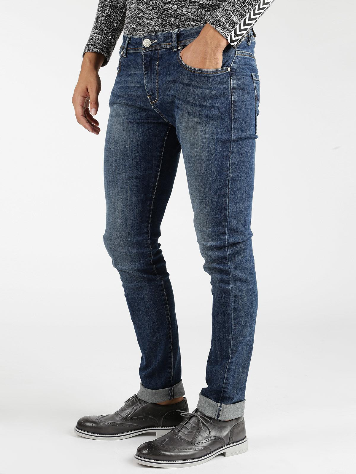 Jeans 5 tasche regular fit baci & abbracci | MecShopping