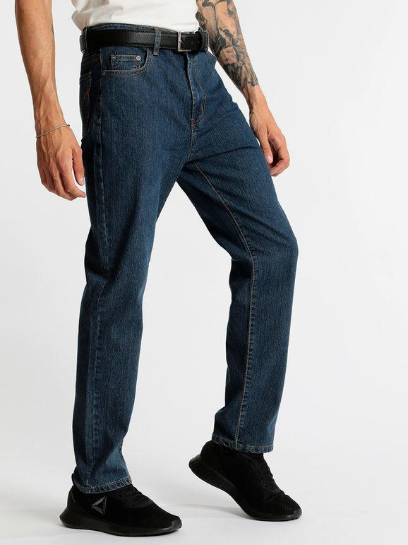 Jeans a gamba dritta regular fit