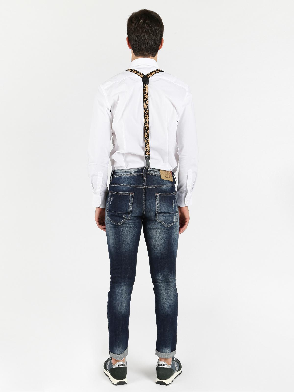 online qui design elegante Vendita di liquidazione Jeans con bretelle uomo x-three   MecShopping