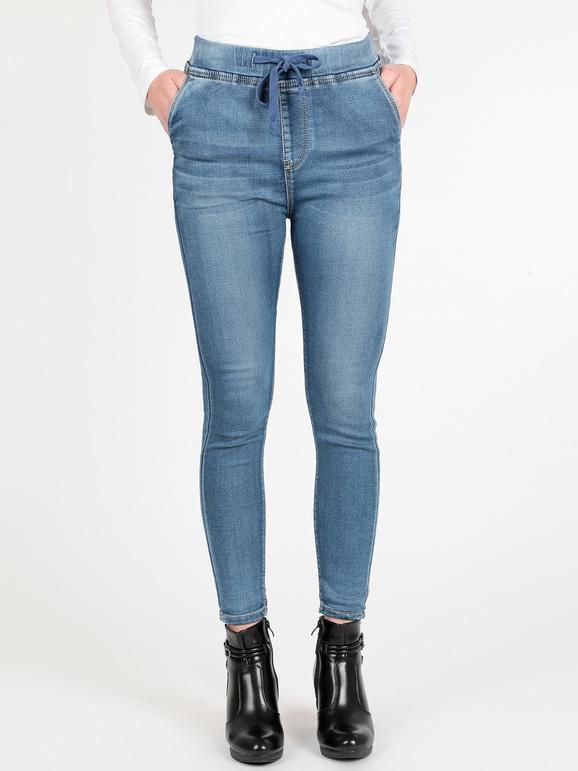 scarpe sportive 4b9a9 2c22a Jeans con elastico in vita m.b.j fashion jeans   MecShopping