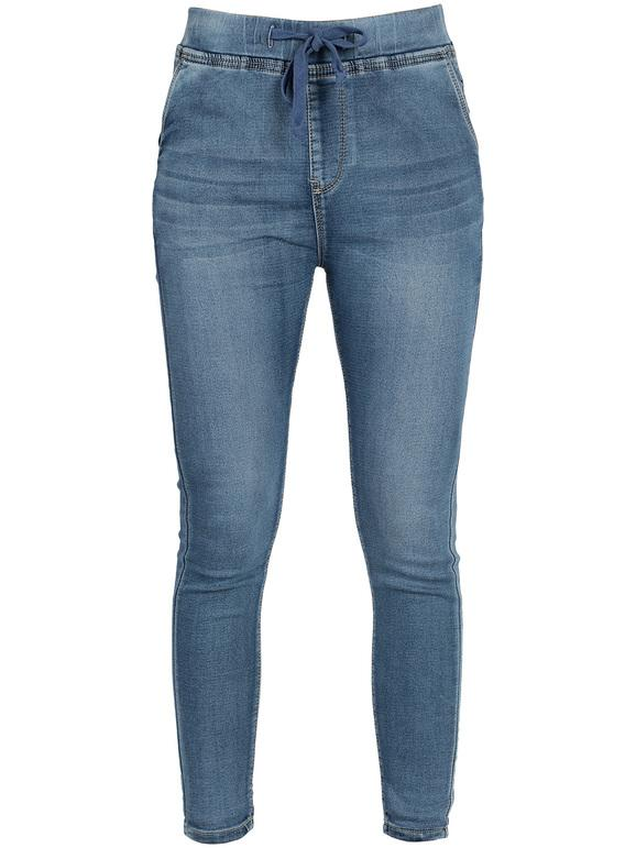 scarpe sportive 12898 c772c Jeans con elastico in vita m.b.j fashion jeans | MecShopping