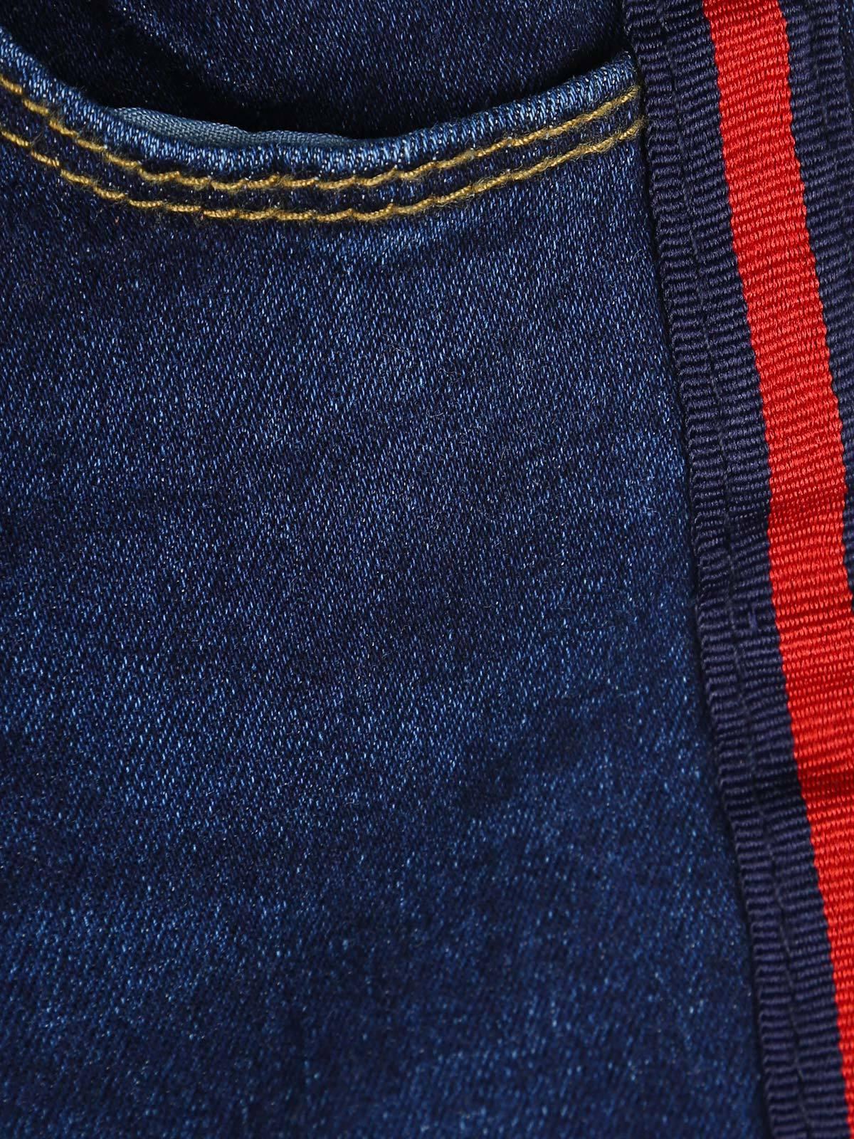 Jeans Con Rayas Al Lado Del Bebe Chica Mecshopping