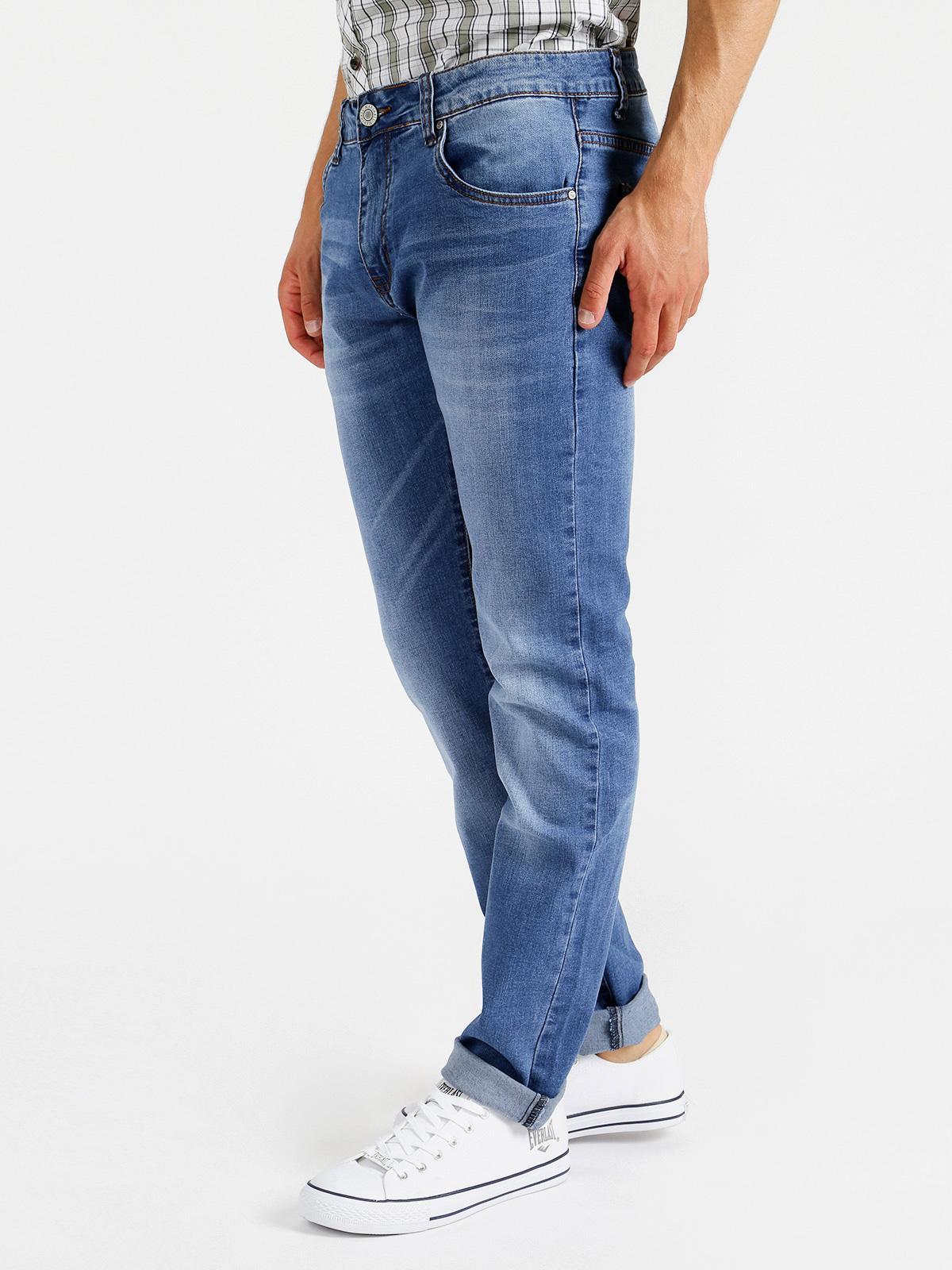 Jeans elasticizzato regular fit marshall angel | MecShopping