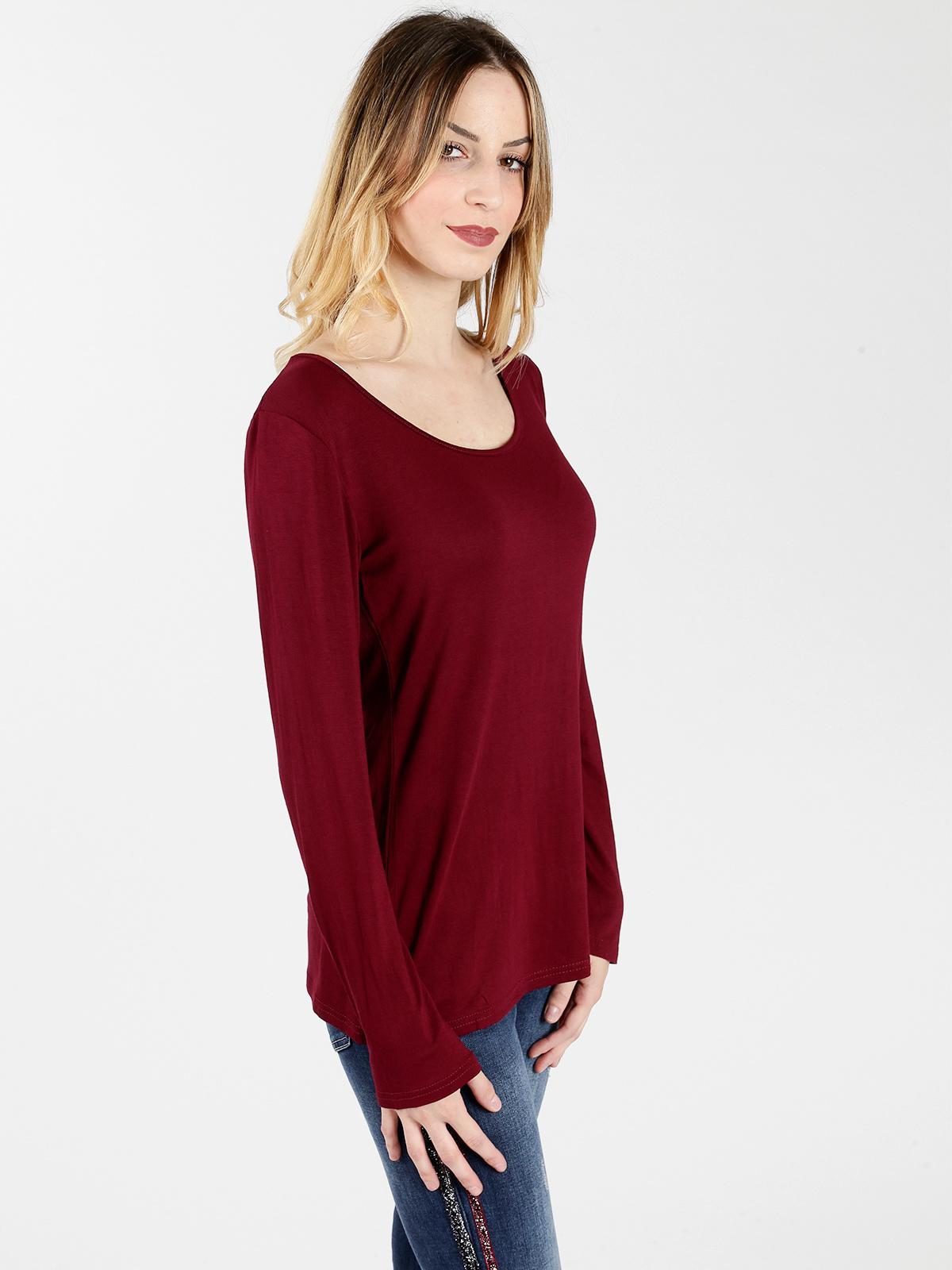 Jersey básico manga larga