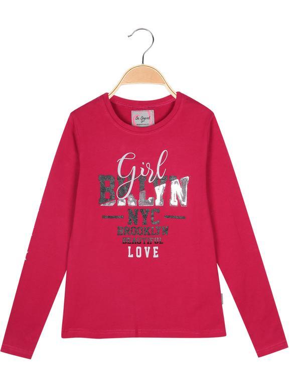 Jersey en algodón cálido con letras.