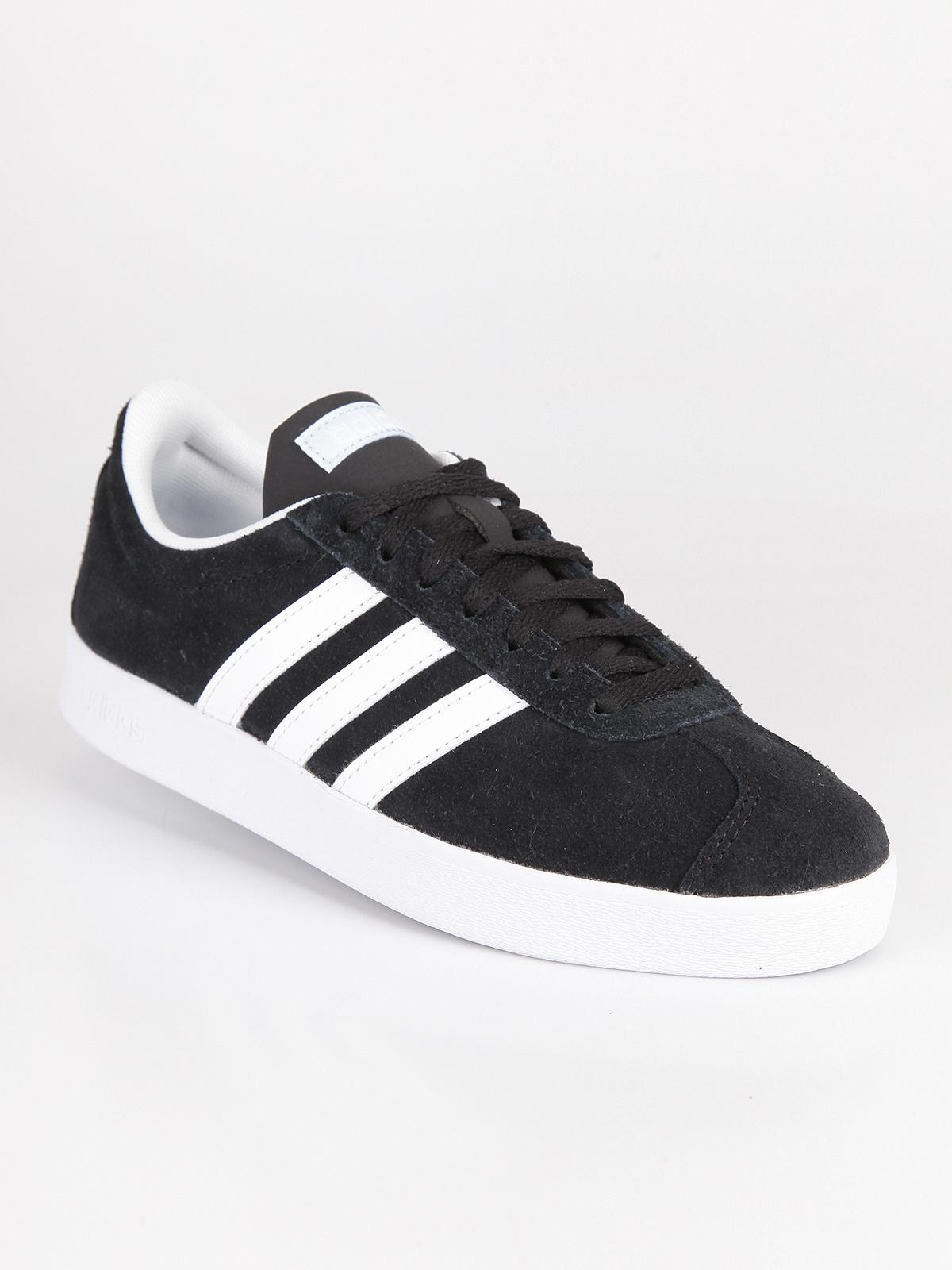 adidas vl court donna lace up sneakers