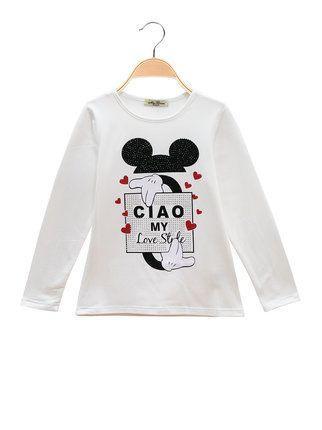 the latest b9ba0 fcf2a Abbigliamento T-Shirt T-Shirt Manica Lunga bambina | MecShopping