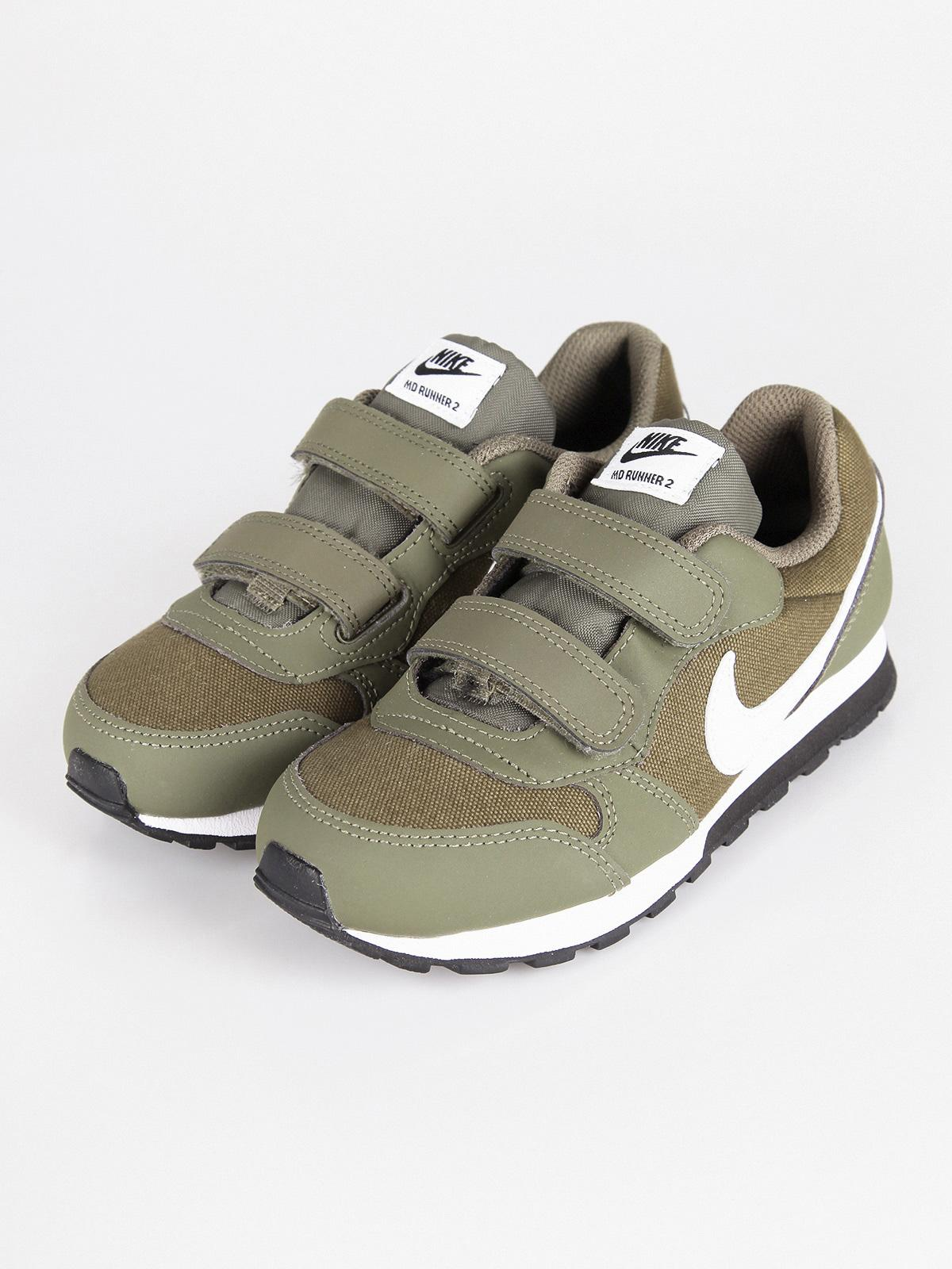 MD Runner 2 Zapatillas verdes militares chico | MecShopping